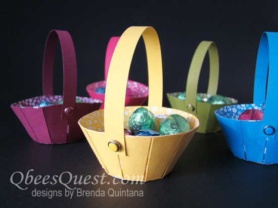 Sunburst Thinlits Easter Basket