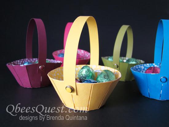 Sunburst Thinlits Easter Basket