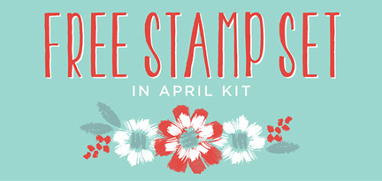 Free Stamp Set in April Paper Pumpkin Kit