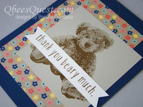 Baby Bear Card (CT #48)