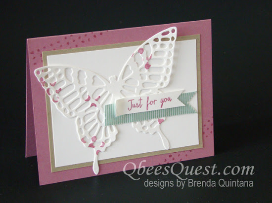 Butterflies Thinlits Card (CT #49)