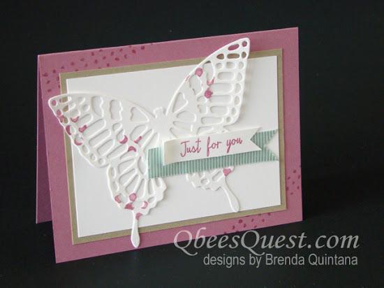 Butterflies Thinlits Card (CT #49)