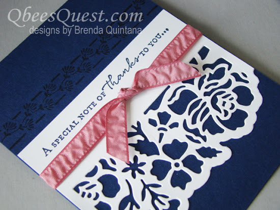 Floral Phrases Card