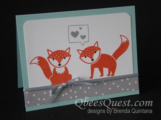 Foxy Friends Card
