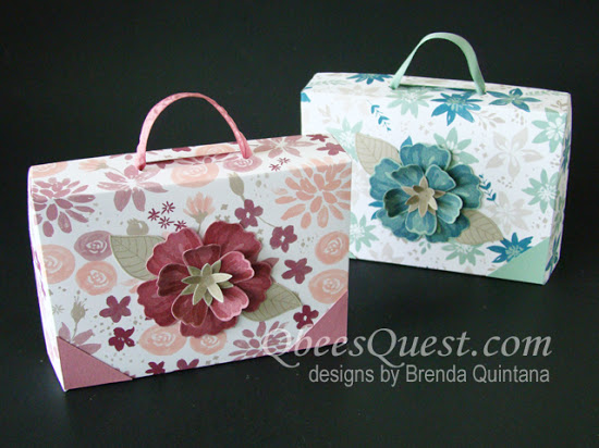 Suitcase Note Card Box Tutorial