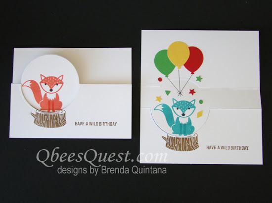 Foxy Friends Flip Card