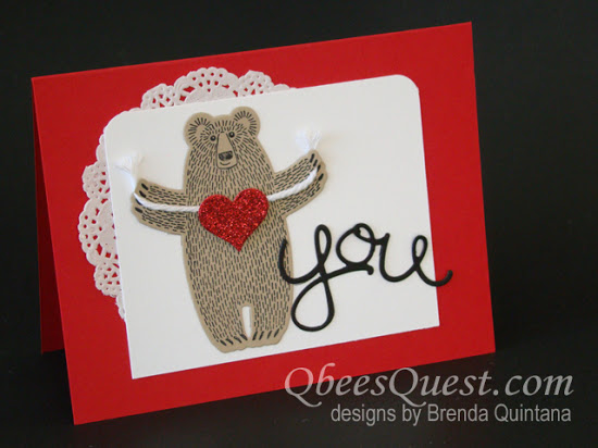 Bear Hugs Card (CT #56)