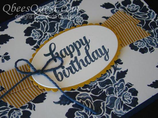 Floral Boutique Card (CT #58)