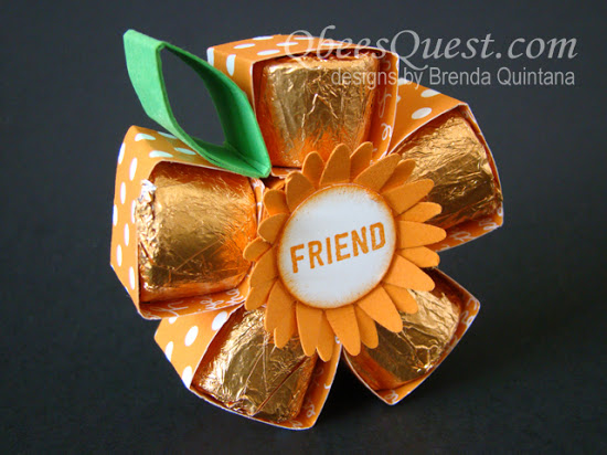 Rolos Flower Tutorial (with gift box)