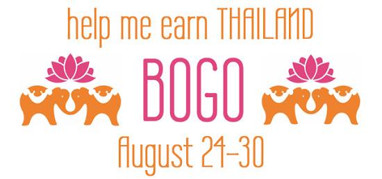 BOGO SALE!!!!  (Help me earn Thailand)