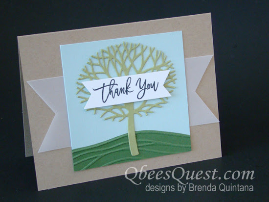 Thoughtful Branches Card (CT #57)