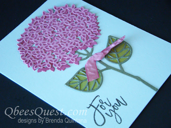 Thoughtful Branches Hydrangea Card