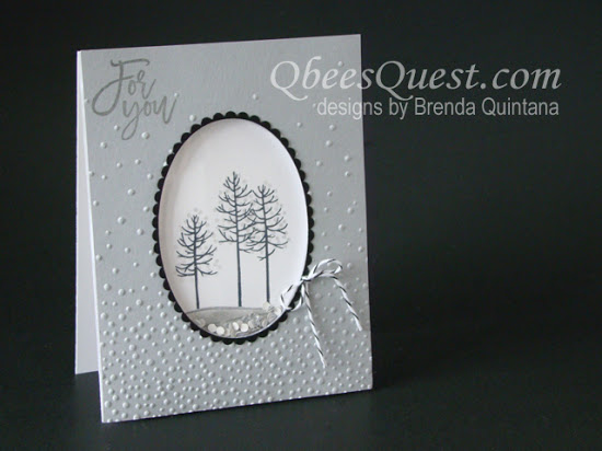 Thoughtful Branches Shaker Card (CT #54)