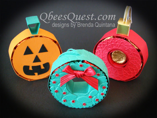 Rolos Pumpkin, Ornament & Wreath Tutorial