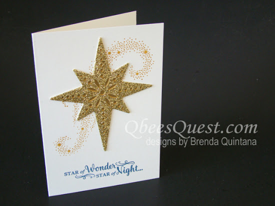 Star of Light Note Card
