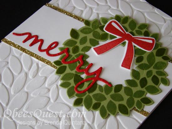 Wondrous Wreath Card (CT #61)