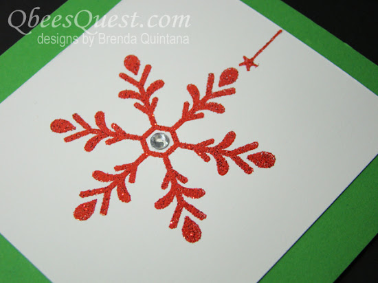 Holly Jolly Greetings Card (CT #69)