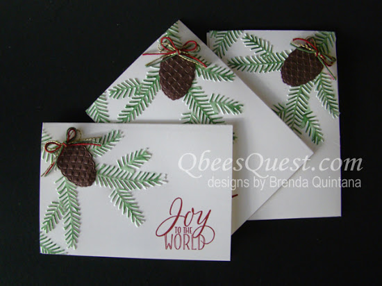 Pretty Pines Note Card