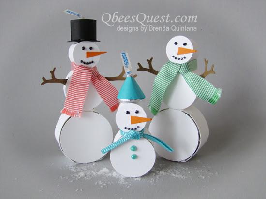 Hershey's Snowman