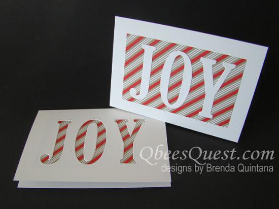 JOY Note Cards