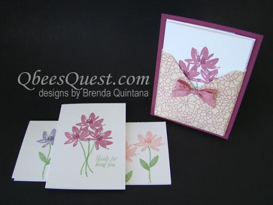 Avant Garden Note Card Holder