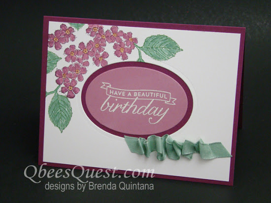 Birthday Blossoms Card (CT #76)
