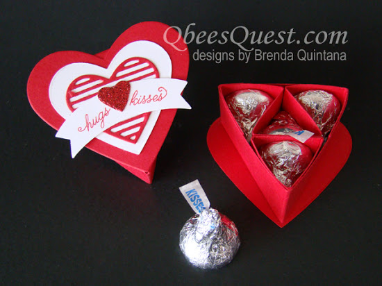 Sweet & Sassy Heart Boxes Tutorial