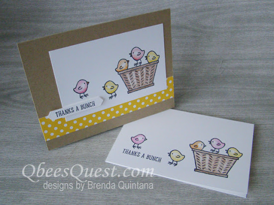 Basket Bunch Thank You Cards