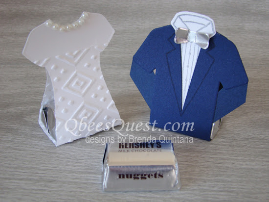 Bride & Groom Nugget Favors