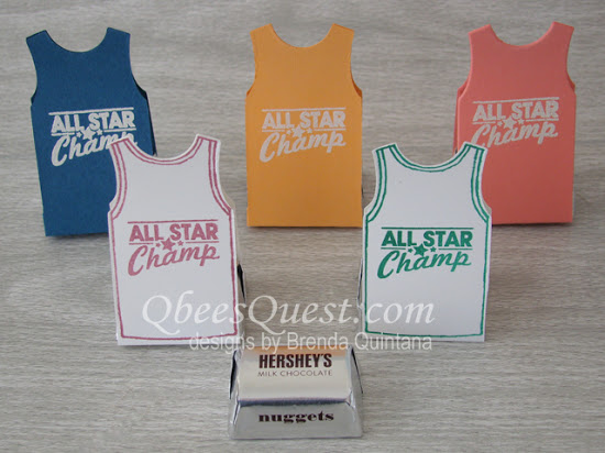 Tank Top Nugget Favors
