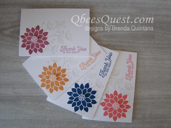 Flourishing Phrases Note Cards