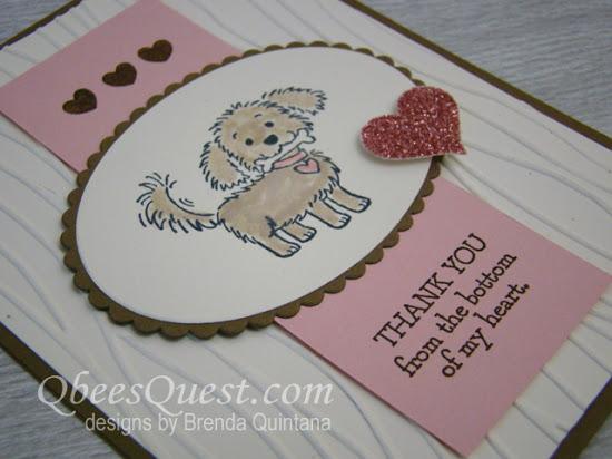 Cute Thank You Card (CT #96)