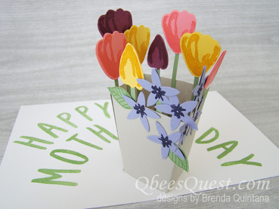 Mother's Day Pop-up Card Video Tutorial