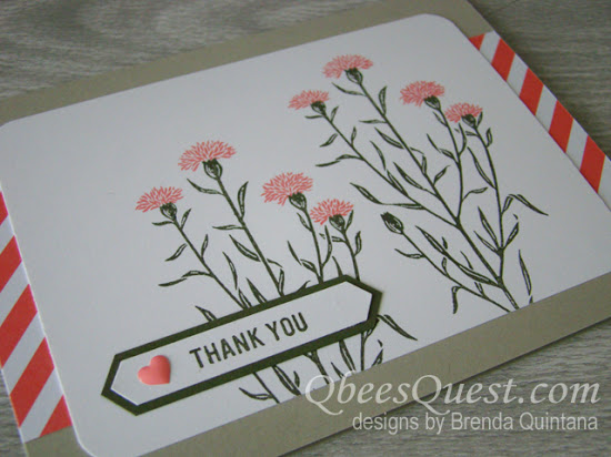 Wild About Flower Card (CT #94)