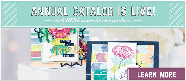 NEW Stampin' Up Catalog is LIVE!!