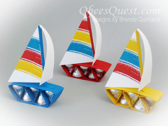 Hershey's Sailboat & Airplane Tutorial
