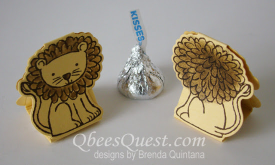 A Little Wild Hershey's Kiss Tents