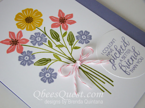 Beautiful Bouquet Card (CT #102)