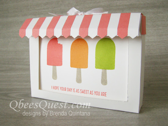 Cool Treats Note Card and Candy Box