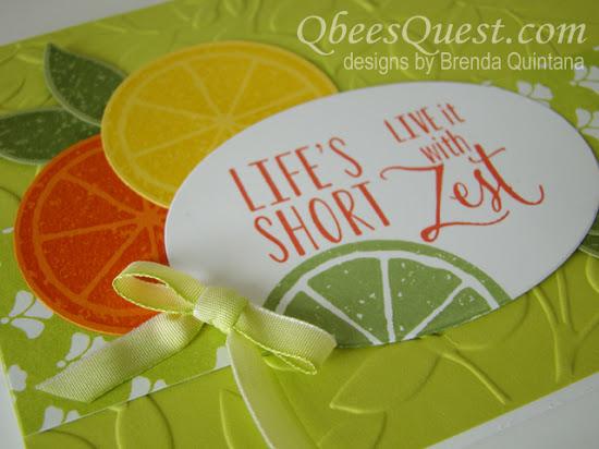 Lemon Zest Card (CT #103)