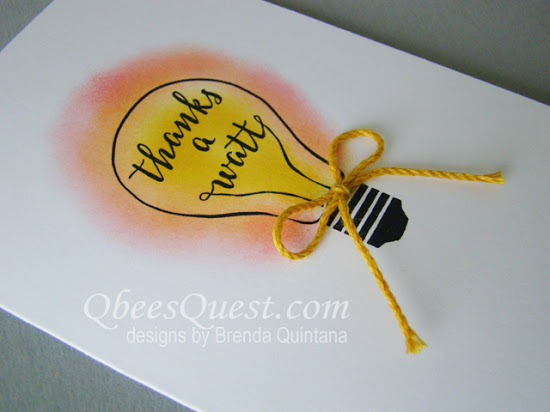 Watts of Occasions Note Card