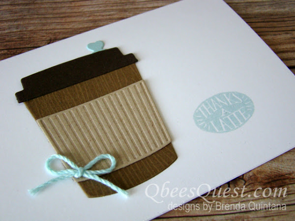 Coffee Cafe Note Card & Last Day of BOGO SALE