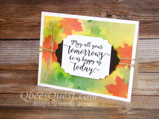 Colorful Seasons Fall Card