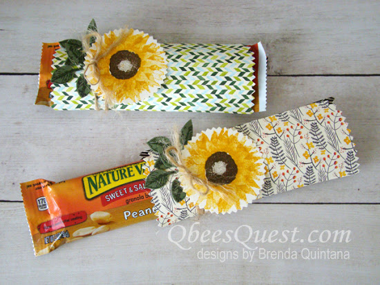 Mini Treat Bag Granola Bar Covers