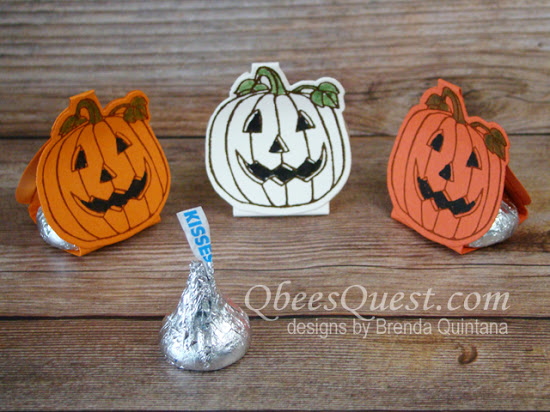 Hershey's Kisses Pumpkin