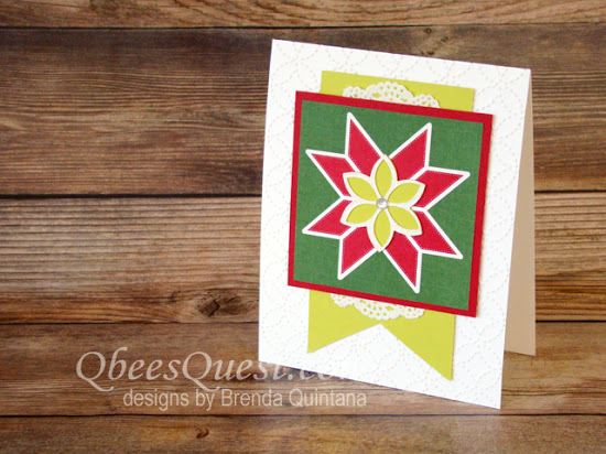 Christmas Quilt Card (CT #118)