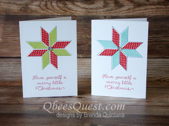 Christmas Quilt Note Cards
