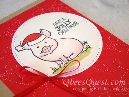 This Little Piggy Says Ho Ho Ho (CT #119)