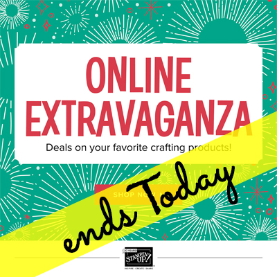 Online Sale Ends Today (Sunday)!!  Free Shipping on Monday!!