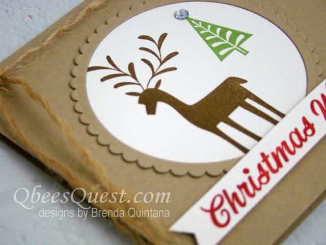 Merry Mistletoe Card (CT #122)